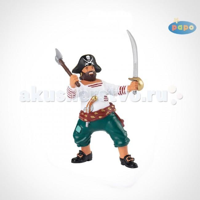 Игровые фигурки Papo Игровая фигурка Пират с мечом игровые фигурки papo фигурка рыба пила
