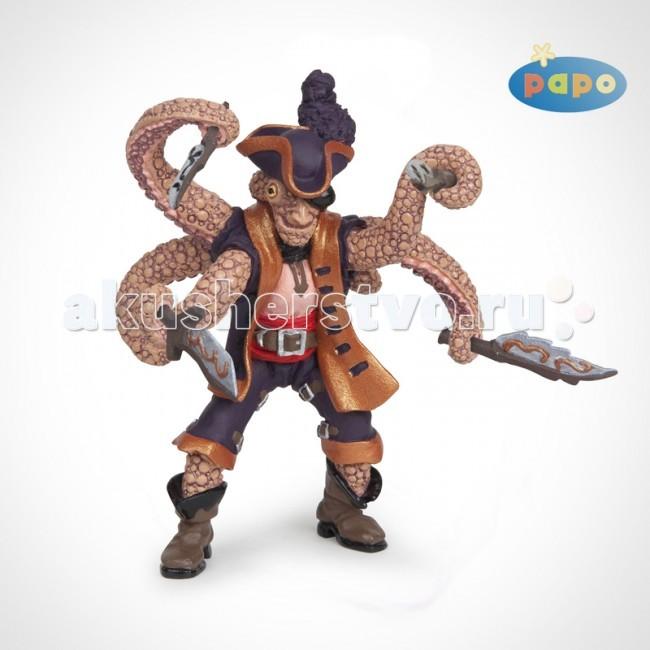Игровые фигурки Papo Игровая фигурка Пират Осьминог-мутант полотно дверное перфекта пг 2х0 8м клен серебристый ламинати