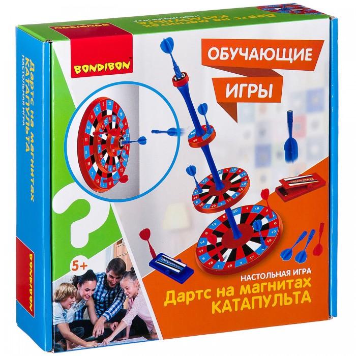 Настольные игры Bondibon Настольная игра Дартс на магнитах Катапульта