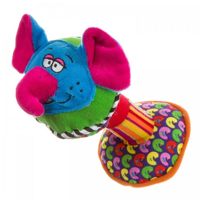 Погремушка Bondibon Развивающая игрушка Гантель Слон фото