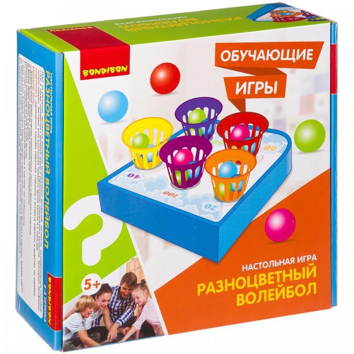 Картинка для Настольные игры Bondibon Настольная игра Разноцветный волейбол