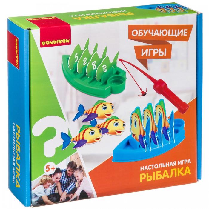 Настольные игры Bondibon Настольная мини игра Рыбалка