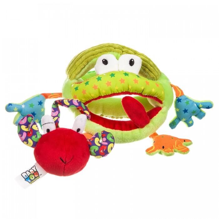 Фото - Погремушки Bondibon Развивающая игрушка Лягушка развивающая игрушка погремушка лягушка с шариками умка