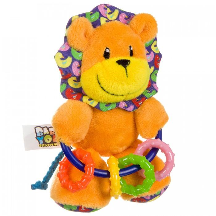 Картинка для Погремушки Bondibon Развивающая игрушка Лев ВВ2902