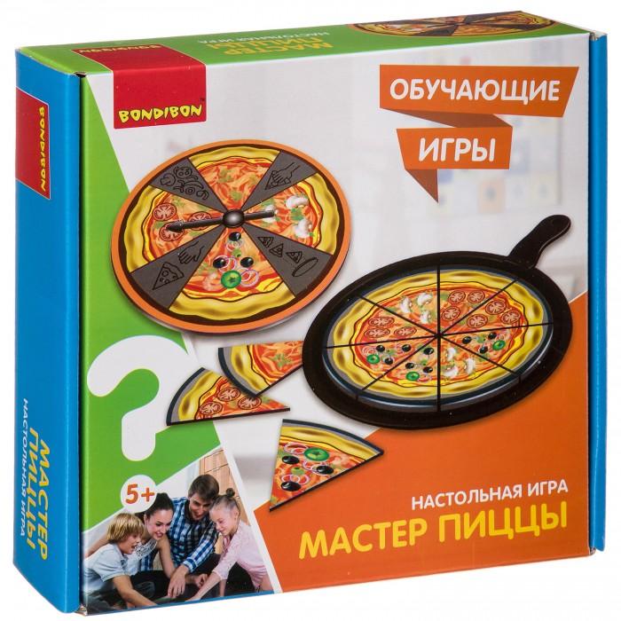 Настольные игры Bondibon Настольная игра Мастер пиццы