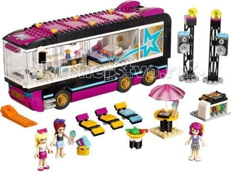 Конструктор Lego Friends Поп звезда: гастроли