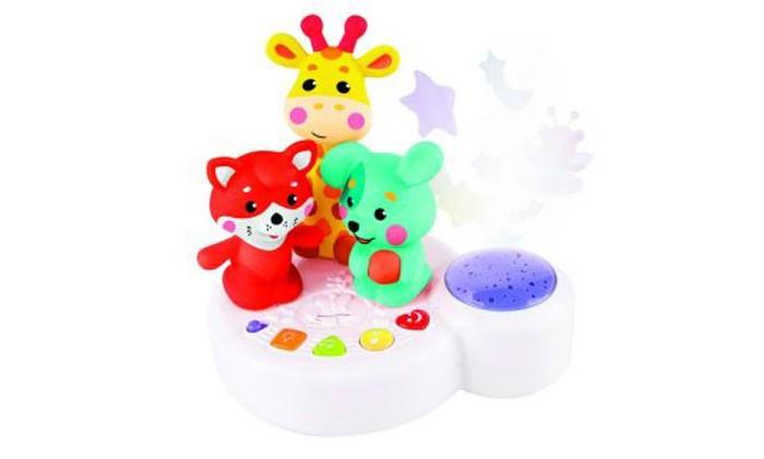 Жирафики Музыкальная игрушка-ночник Жирафик и друзья с проектором