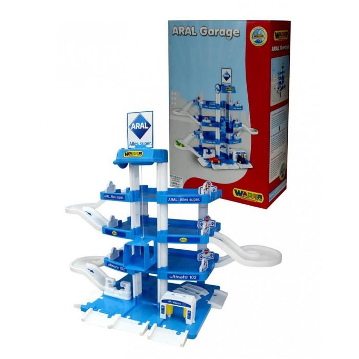 Wader Паркинг ARAL-2 4-уровневыйПаркинг ARAL-2 4-уровневыйWader Паркинг ARAL-2 4-уровневый понравится малышу и поможет развить воображение!  В нем есть все, что может потребоваться машинам: паркинг с лифтом, краном, заправочной станцией и техобслуживанием и, конечно же, скоростным спуском. Характеристика:   Материал: высококачественная пластмасса.<br>