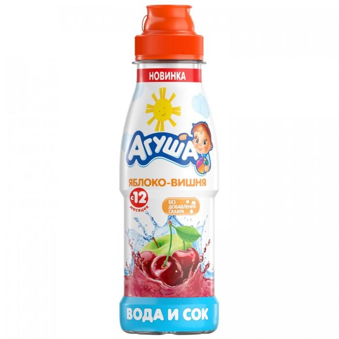 Купить Агуша Вода и сок Яблоко-Вишня с 12 мес. 300 мл в интернет магазине. Цены, фото, описания, характеристики, отзывы, обзоры
