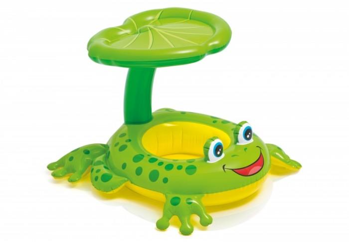 Купить Круги и нарукавники для плавания, Intex Надувной плотик Лягушка