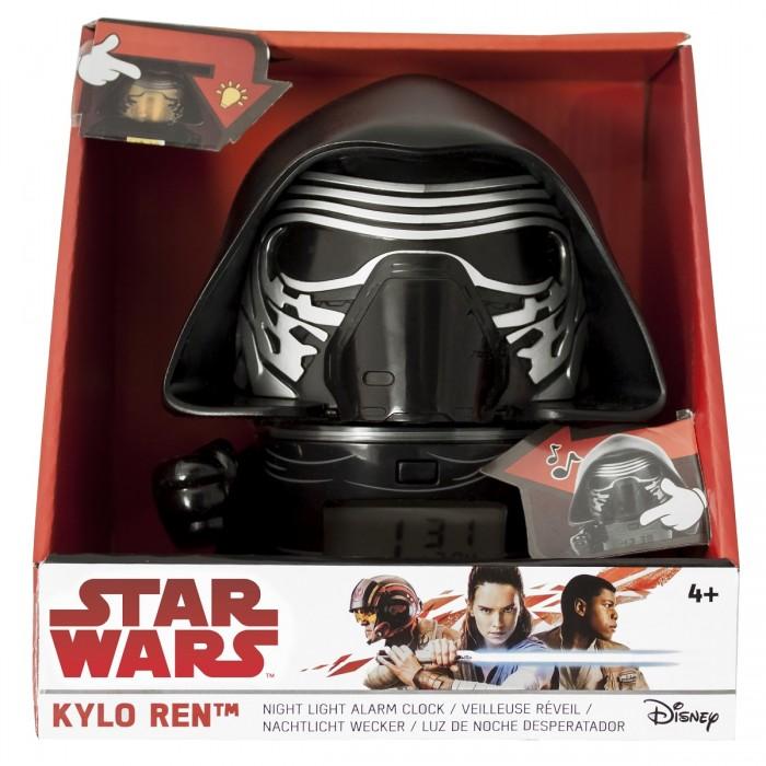 Часы Star Wars Будильник BulbBotz минифигура Kylo Ren 14 см