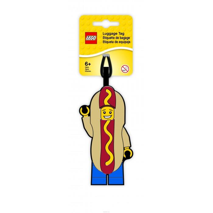 Детские чемоданы Lego Бирка для багажа Hot Dog