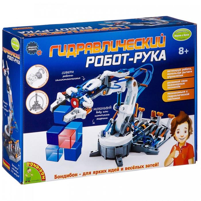 Bondibon Французские опыты Науки с Буки Гидравлический робот-рука от Bondibon