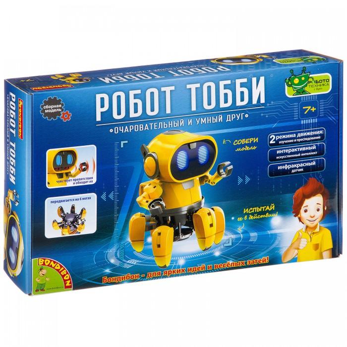 Купить Наборы для опытов и экспериментов, Bondibon Французские опыты Науки с Буки Робот Тобби