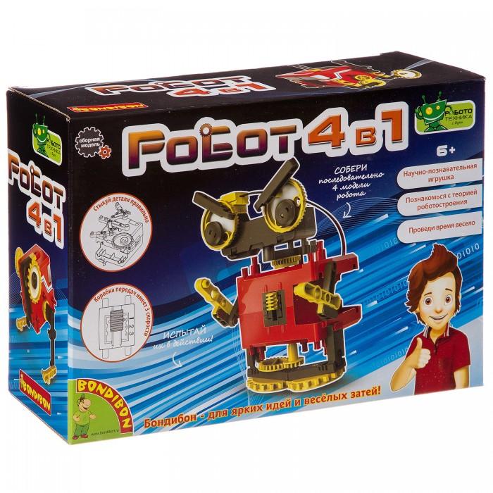 Купить Наборы для опытов и экспериментов, Bondibon Французские опыты Науки с Буки Роботы