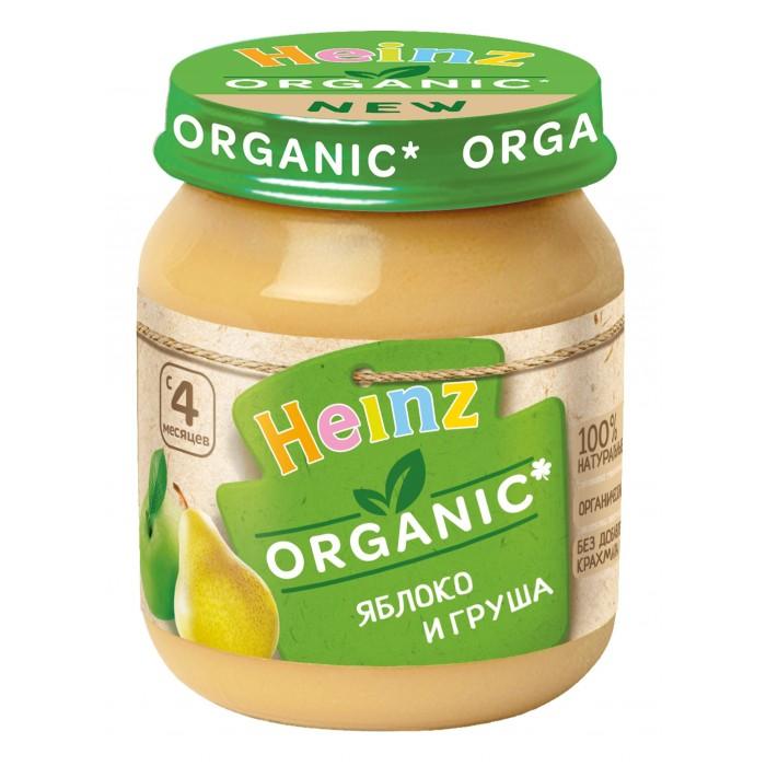 Купить Heinz Пюре Органик яблоко и груша с 4 мес., 120 г в интернет магазине. Цены, фото, описания, характеристики, отзывы, обзоры