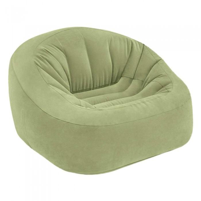 Кресло для мамы Intex надувное для отдыха 124х119х76 смКресла для мамы<br>Кресло для мамы Intex надувное для отдыха 124х119х76 см понравится не только детям, но и взрослым, которые смогут расслабиться и откинуться на высокую спинку.  Особенности:  Благодаря этому креслу и взрослые, и дети смогут расслабиться и отдохнуть, а само изделие прекрасно впишется в интерьер любой комнаты Данная модель оснащена удобным широким сиденьем и высокой спинкой, по краям есть подлокотники Кресло легко перемещается по комнате, принимает форму тела сидящего и имеет устойчивую конструкцию Изделие представлено в практичном оттенке и имеет приятное на ощупь покрытие из велюрового флока, которое легко чистится Кресло легко надувается, оно выполнено из сертифицированного и очень прочного винила с повышенной плотностью, а также гипоаллергенного текстиля В комплекте представлен ремкомплект для быстрого устранения повреждений на корпусе изделия.