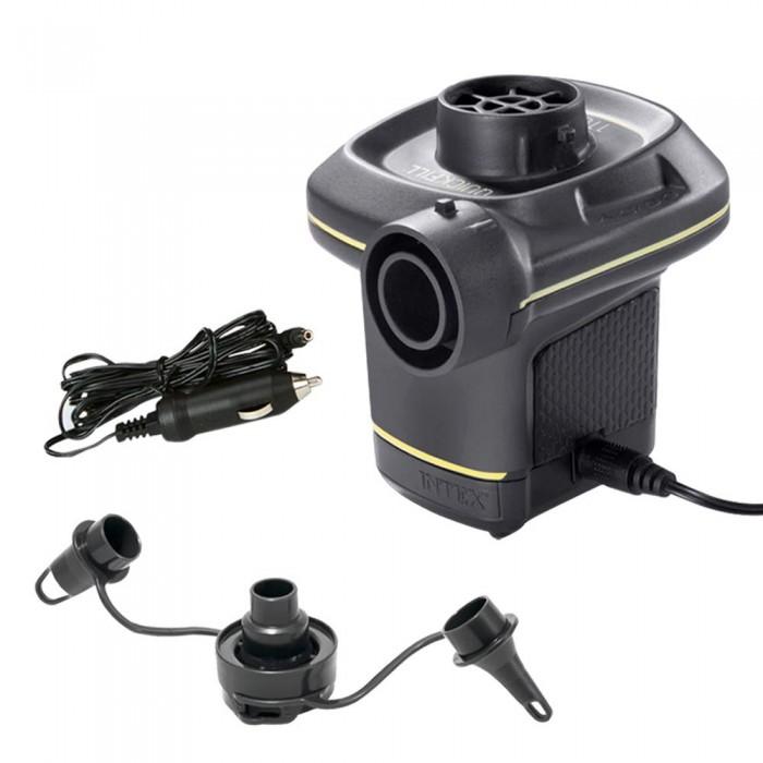 Матрасы для плавания Intex Насос электрический 220В 3 насадки