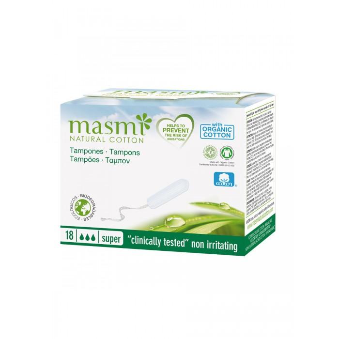 Купить Masmi Гигиенические тампоны Super из органического хлопка 18 шт. в интернет магазине. Цены, фото, описания, характеристики, отзывы, обзоры