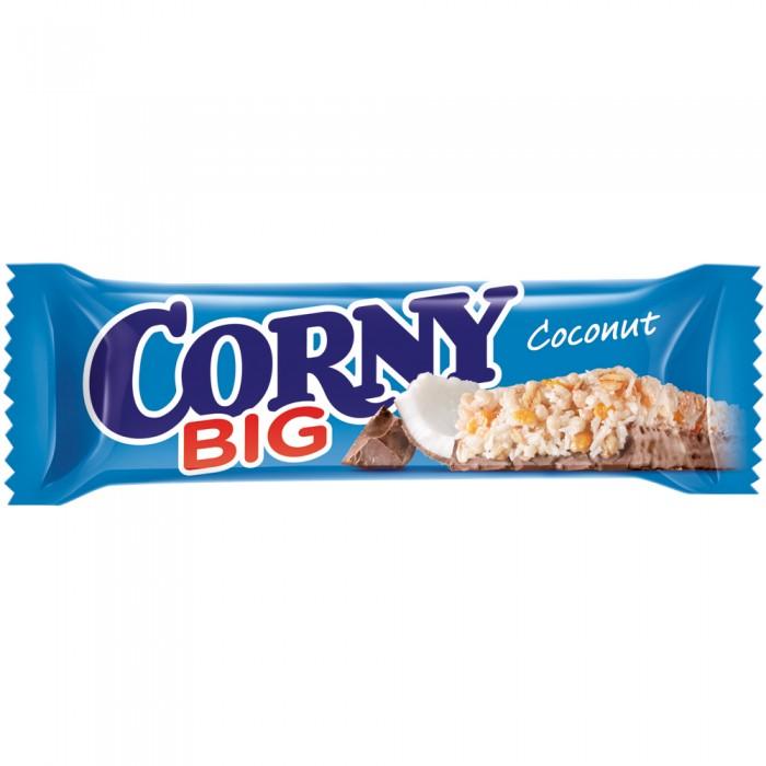 Печенье Corny Злаковый батончик Big с кокосом и молочным шоколадом 50 г corny coconut батончик злаковый с кокосом и молочным шоколадом 50 г
