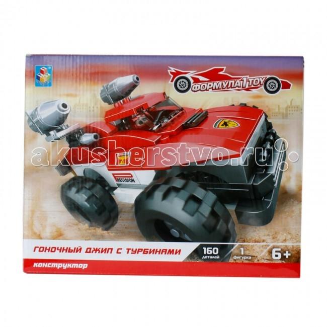 Конструктор 1 Toy Формула Гоночный джип 90 элементов