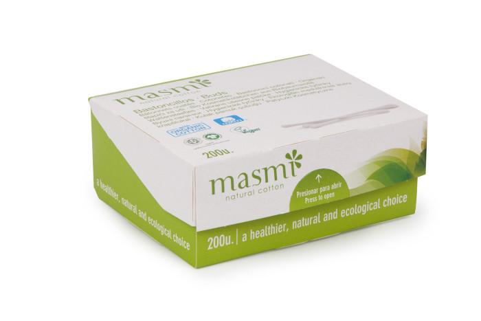 Купить Masmi Гигиенические палочки из органического хлопка 200 шт. в интернет магазине. Цены, фото, описания, характеристики, отзывы, обзоры