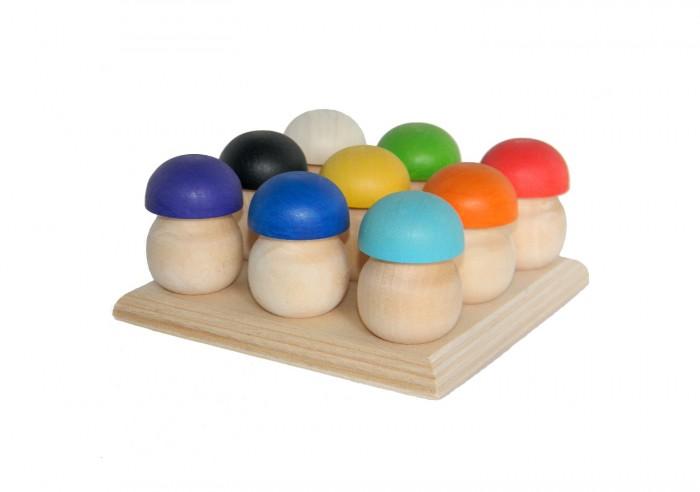 Фото - Деревянные игрушки Уланик Игра Монтессори Грибная поляна (9 грибочков) деревянные игрушки уланик игра монтессори грибная поляна 25 грибочков