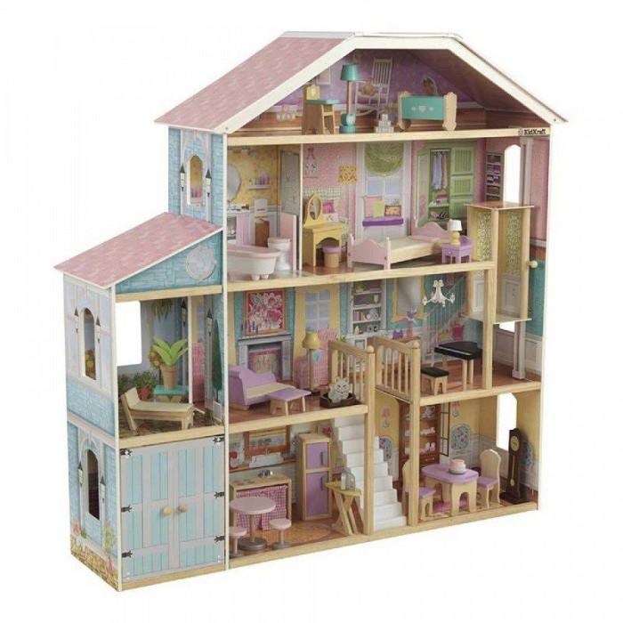 Купить Кукольные домики и мебель, KidKraft Деревянный особняк Роскошь