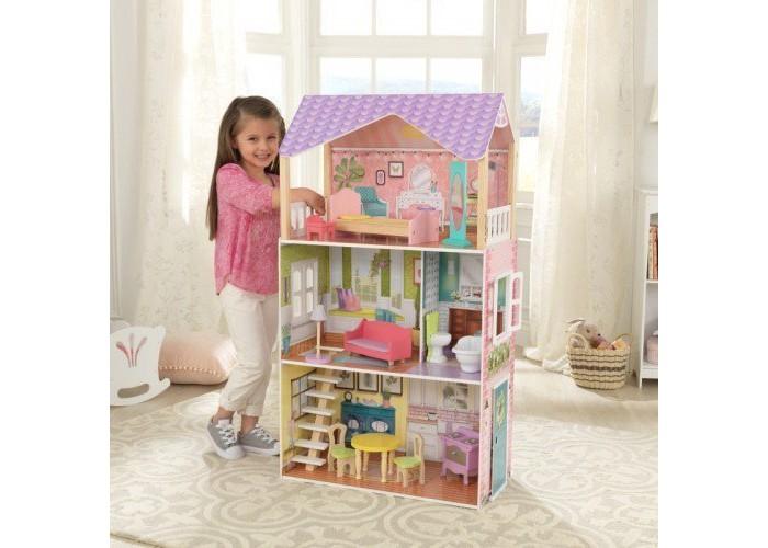 Купить Кукольные домики и мебель, KidKraft Кукольный домик Поппи