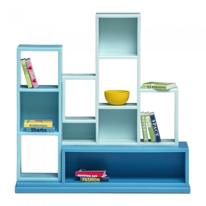 Кукольные домики и мебель Lundby Аксессуары для домика книжная полка