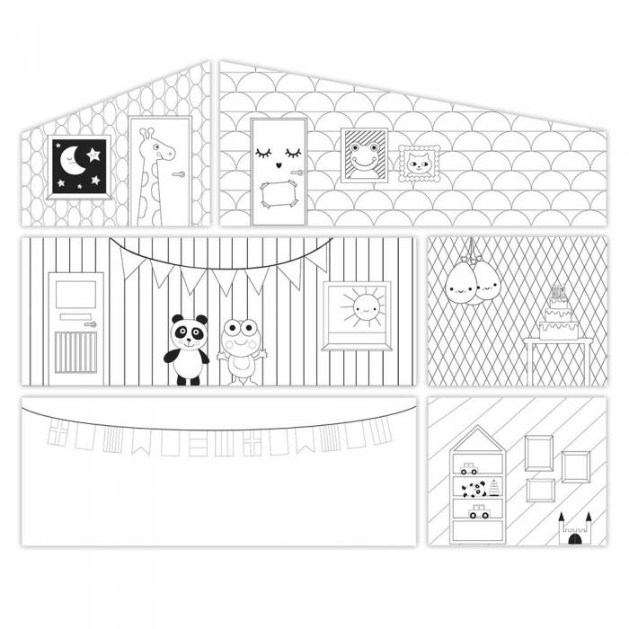 Фото - Кукольные домики и мебель Lundby Аксессуары для домика креативные обои аксессуары для домика lundby смоланд батут с машинкой