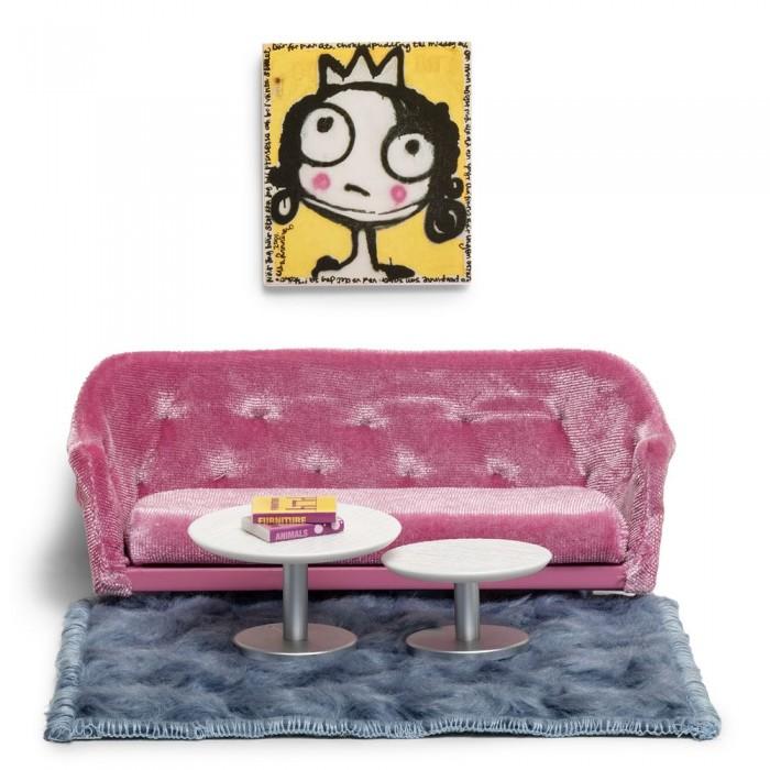 Купить Кукольные домики и мебель, Lundby Набор мебели для домика Гостиная