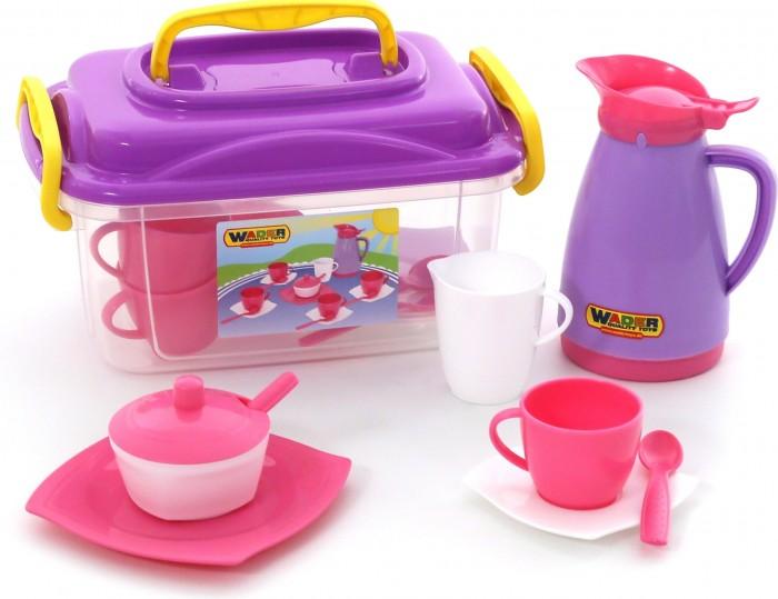 Ролевые игры Wader Набор детской посуды Алиса на 4 персоны набор посуды тигрес ромашка на 4 персоны большой 39091