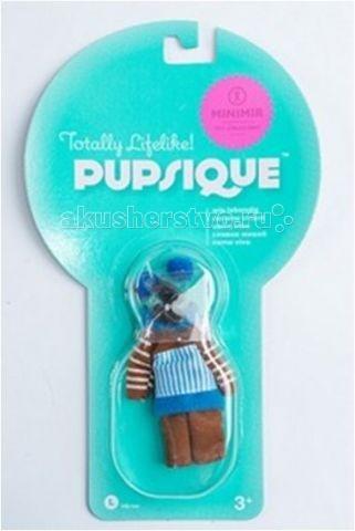 Куклы и одежда для кукол Pupsique Коричневый костюм и наушники куклы и одежда для кукол виана одежда для кукол 128 17