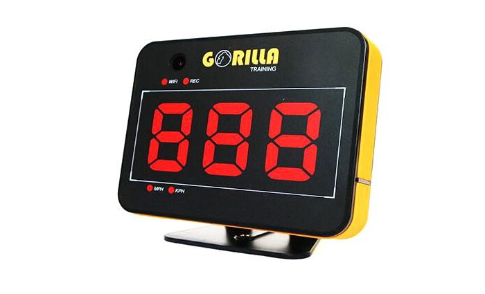 Gorilla Training Спортивный радар со встроенной камерой Speed Vision от Gorilla Training