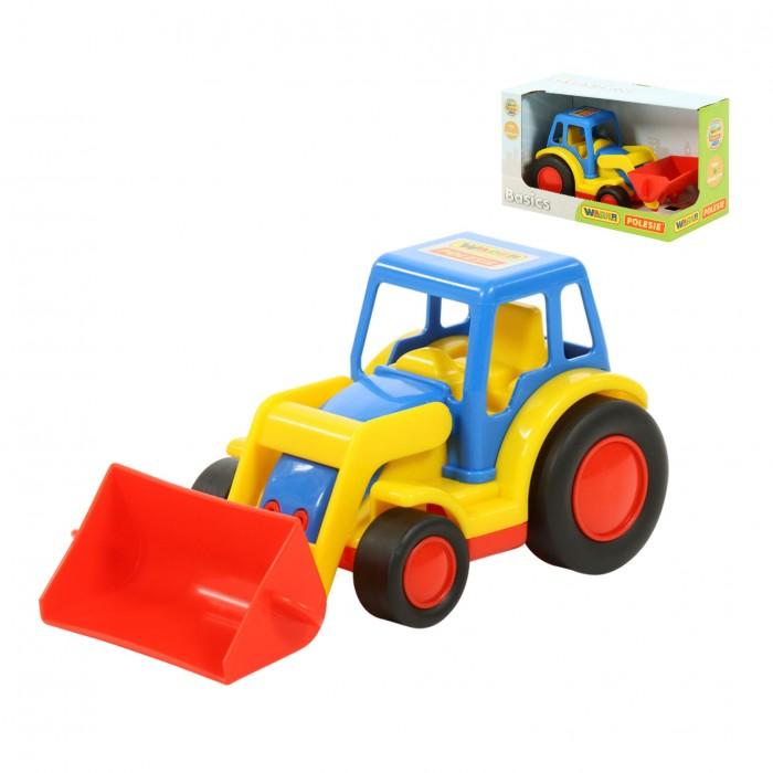 Машины Wader Базик Трактор-погрузчик погрузчик wader базик 37626 22 см