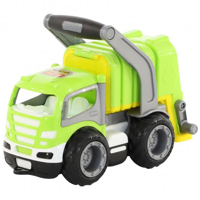 Машины Wader ГрипТрак автомобиль Коммунальный мусоровоз wader гриптрак 37459 28 5 см