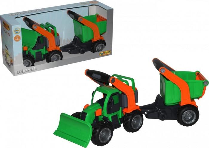 Wader ГрипТрак Трактор снегоуборочный с полуприцепом