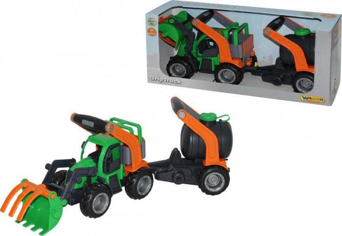 Wader ГрипТрак Трактор-погрузчик с цистерной