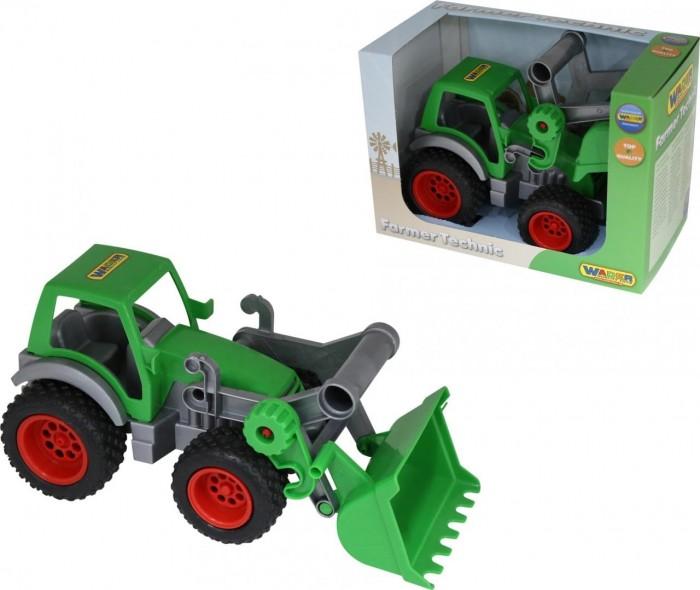 Машины Wader Фермер-техник Трактор-погрузчик