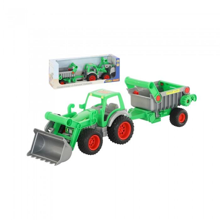 Wader Фермер-техник Трактор-погрузчик с полуприцепом фото