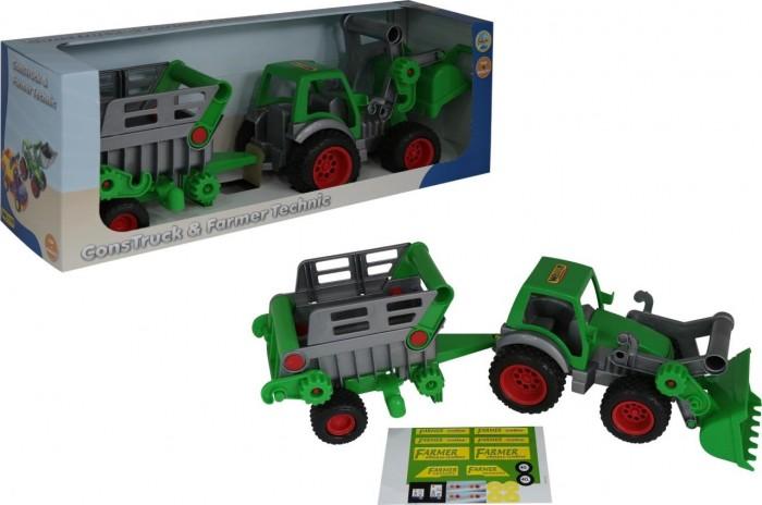 Wader Фермер-техник Трактор-погрузчик с полуприцепом №2
