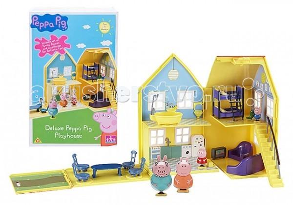 Игровые наборы Свинка Пеппа (Peppa Pig) Игровой набор Загородный дом Пеппы игровой набор peppa pig игровой набор машина пеппы