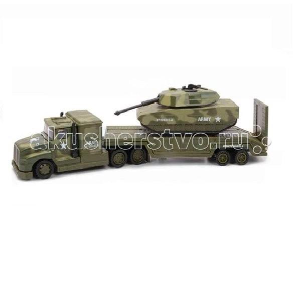 Машины Mighty Wheels Soma Военный перевозчик Танк 28 см машины mighty wheels soma военный перевозчик танк 28 см