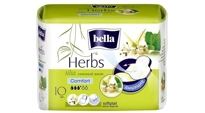 Купить Bella Гигиенические ежедневные прокладки Herbs tilia с экстрактом липового цвета 10 шт. в интернет магазине. Цены, фото, описания, характеристики, отзывы, обзоры