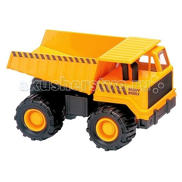 Машины Mighty Wheels Soma Строительная техника Карьерный грузовик 18 см машины mighty wheels soma военный перевозчик танк 28 см