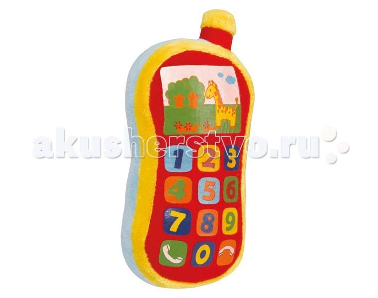 Развивающие игрушки Simba ABC Плюшевый телефон