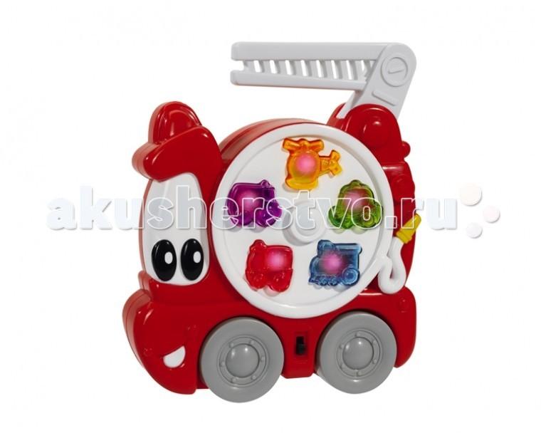 Развивающие игрушки Simba ABC Пожарная машина пламенный мотор машинка инерционная volvo пожарная охрана
