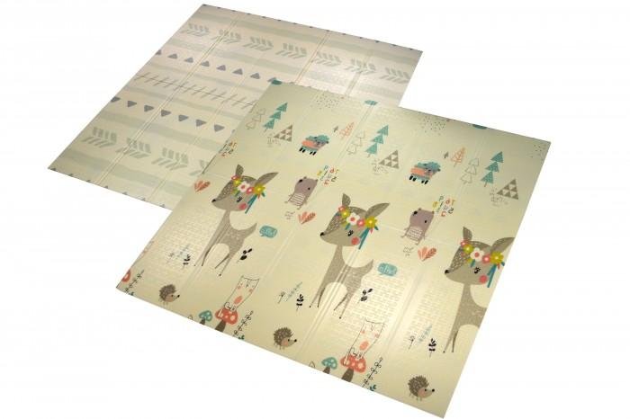 Игровой коврик Forest Baby animals and Natural 177х197х1 см (складной)
