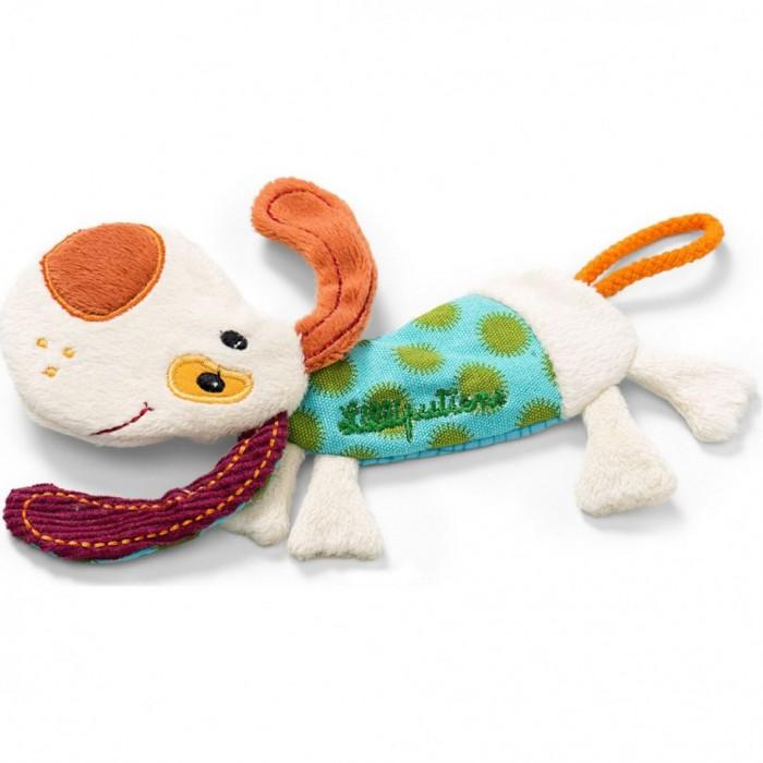 Мягкая игрушка Lilliputiens Собачка Джеф с держателем для пустышки